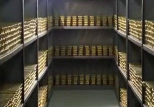 Des réserves d'or exportées d'Ukraine vers les USA?