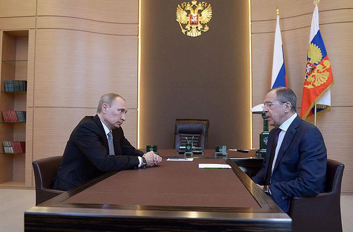 푸틴 대통령과 라브 로프 장관은 우크라이나에 미국을 제안했다.