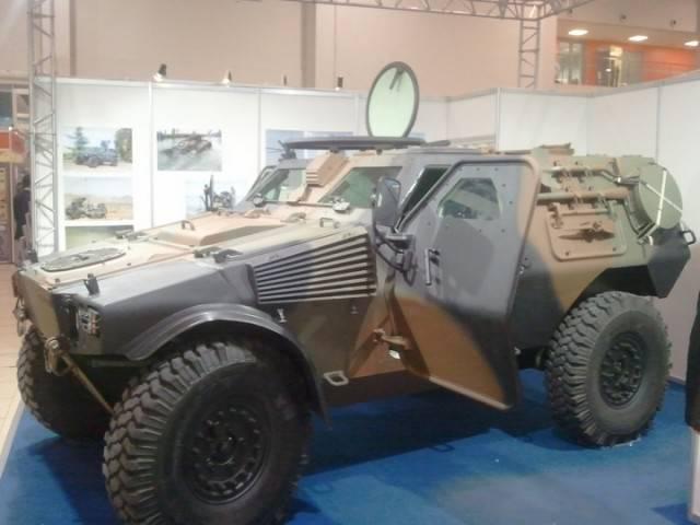 PVP ve VBL zırhlı otomobilleri Rusya'da test ediliyor