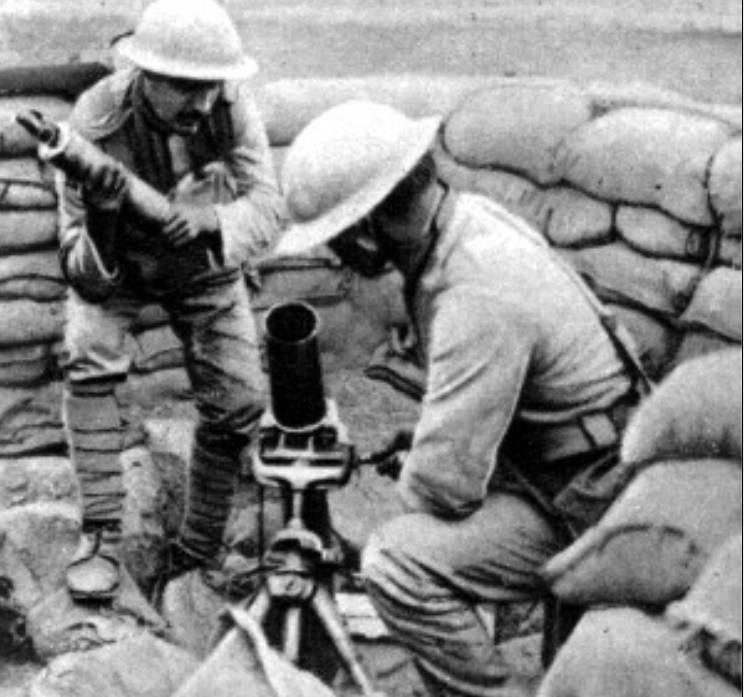 戦争中のソビエトモルタル。 パート1