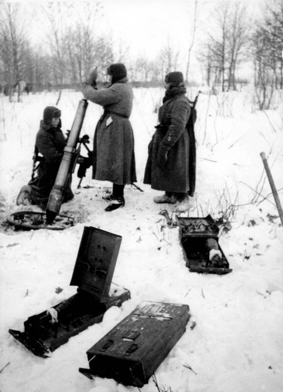 Mortai sovietici durante la guerra Parte 2
