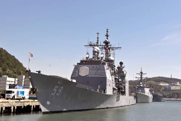 Les sous-marins américains entourés par la Corée du Sud