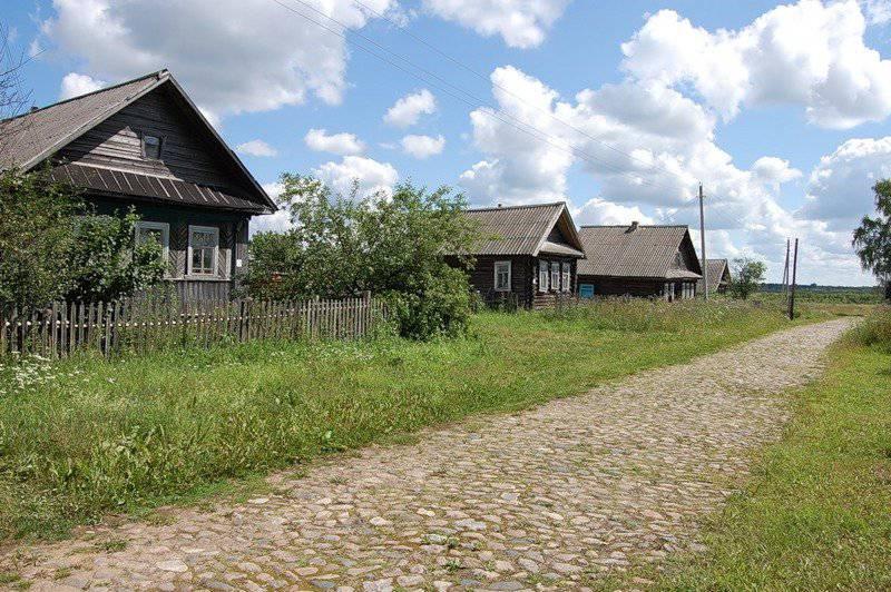 A causa degli eventi in Ucraina, voglio andare in un remoto villaggio russo