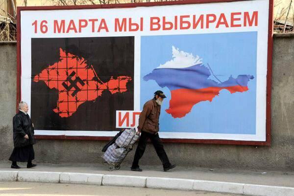 La victoire dans la Crimée sera-t-elle vaincue en Ukraine?