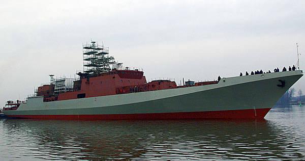 Un nuevo buque de guerra para la Flota del Mar Negro de Rusia lanzará el 14 de marzo