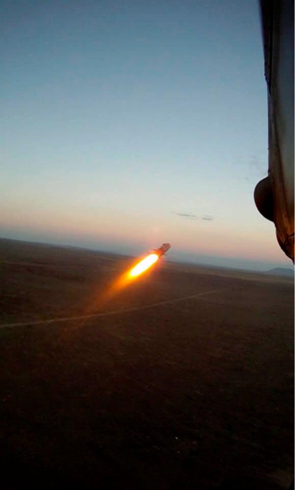 Турция начала испытания противотанковой ракеты MIZRAK-U