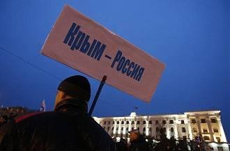 クリミア半島のドイツ人コミュニティはロシアへの共和国の加盟を支持した
