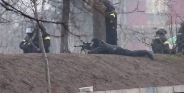 SBU의 전임자는 키예프에서 저격수의 총격 사건에 관한 세부 사항을 말했다.