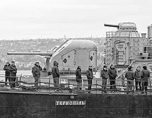 Die ukrainische Flotte ist gezwungen, einen neuen Einsatzort zu suchen