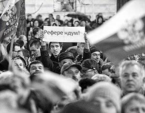 ほとんどの人が国民投票に参加するでしょう。」 ハリコフ地域の抗議指導者は、彼の地域がウクライナからの脱退を要求するかどうかを語った