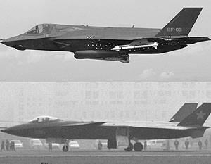 Mídia: China usou tecnologias F-35 roubadas em seu caça