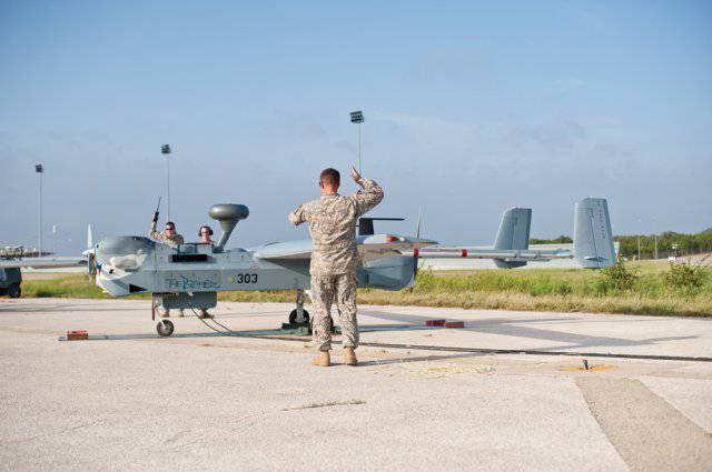 Crimeans intercepted American shock drone
