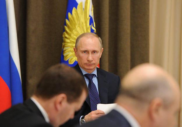 "Putin - ""the main link"""