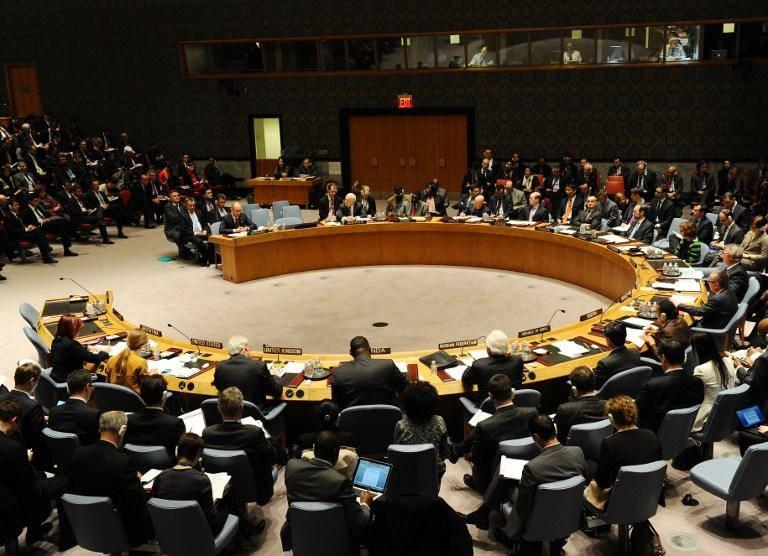 俄罗斯否决联合国安理会关于反对克里米亚全民投票的决议草案