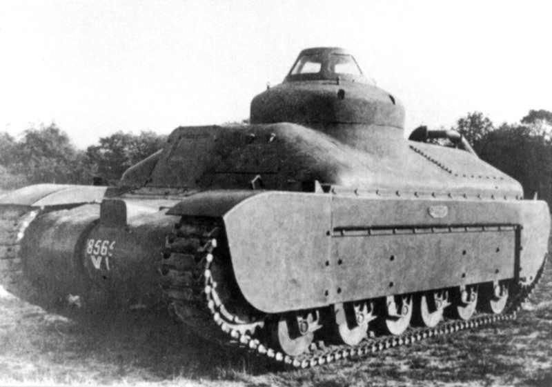 Французский экспериментальный танк Char G1