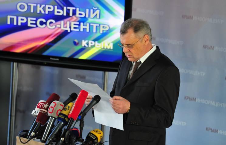 Mikhail Malyshev : 96,6 %의 Crimeans는 러시아 연방과의 통일을 위해 투표했습니다.