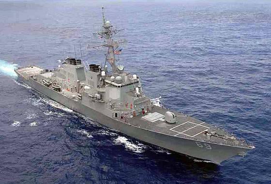 La marine américaine a commandé deux destroyers de la classe «Arly Burk» du DDG-51