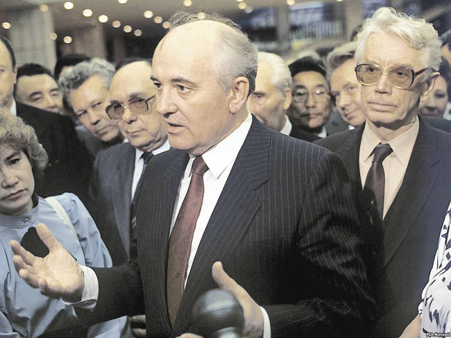 Gorbachev. colleagues and accomplices. How to sell the USSR