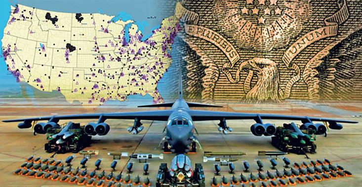 30 대 부근의 미국 전략 핵력