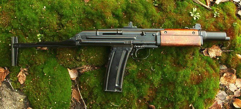 Erfahrene kleine Maschine Tkachev AO-46