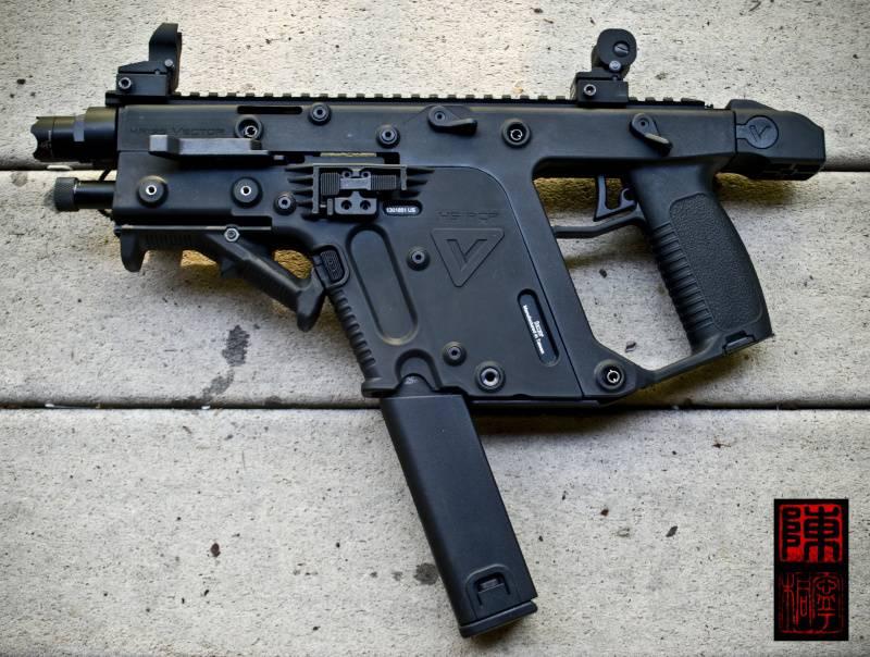 """KRISS Arms tarafından """"Geliştirilmiş"""" Yeni Vektör CRB-SBR"""