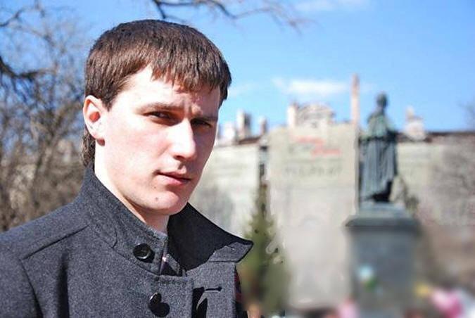 친 러시아 활동가 안톤 데이비슨 첸코, 오데사에 체포