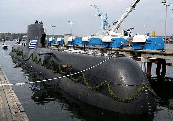 希腊海军将在214年度采用三艘Tip-2015级潜艇