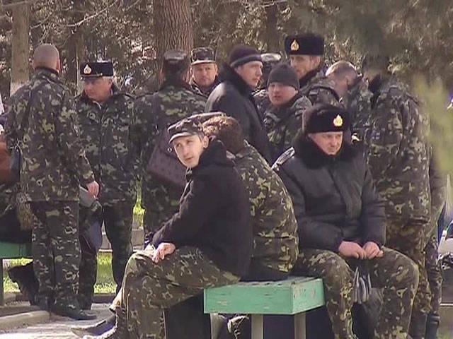 Los marineros ucranianos van al servicio ruso.