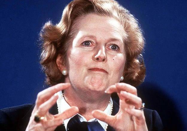Batının sahte putları. Bölüm II Margaret Thatcher