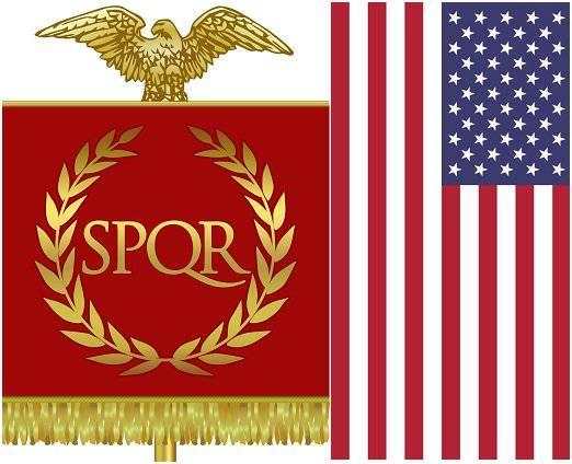 Caractéristiques générales de la politique de l'Empire romain depuis les principes de la principauté et des États-Unis modernes