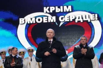 푸틴 대통령의 승리 행진?