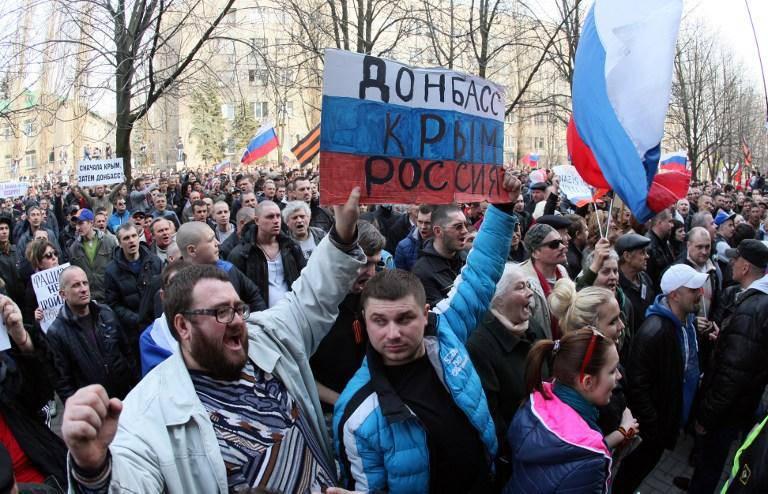 """우크라이나에서는 """"Donbass의 민병대""""인 Mikhail Chumachenko의 지도자를 체포했다."""