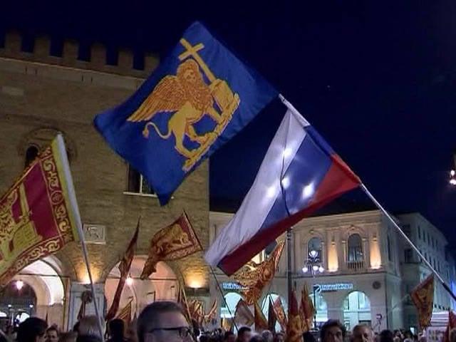"""""""停止喂养懒惰的人"""":威尼斯人投票支持与意大利分离"""