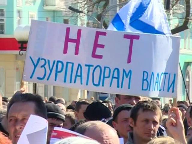 Lugansk, Rusya'ya katılmak için 100 binlerce imza topladı