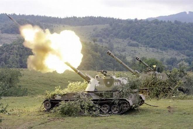 ヘルソン地域で自走榴弾砲が爆発した結果、乗組員は姿を消した