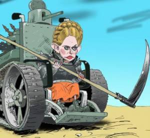 티모셴코 (Tymoshenko)는 러시아 연방의 행동에 대응하기 위해 본부를 창설했다.