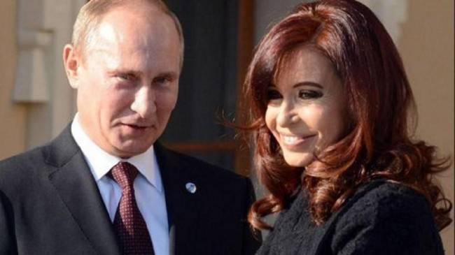 Medios de comunicación: Vladimir Putin estuvo de acuerdo con el despliegue de la base militar rusa en Argentina