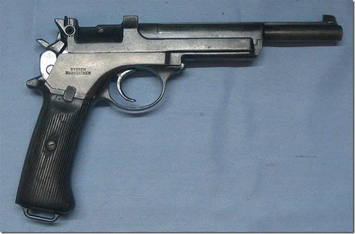 Pistola Mannlicher 1905