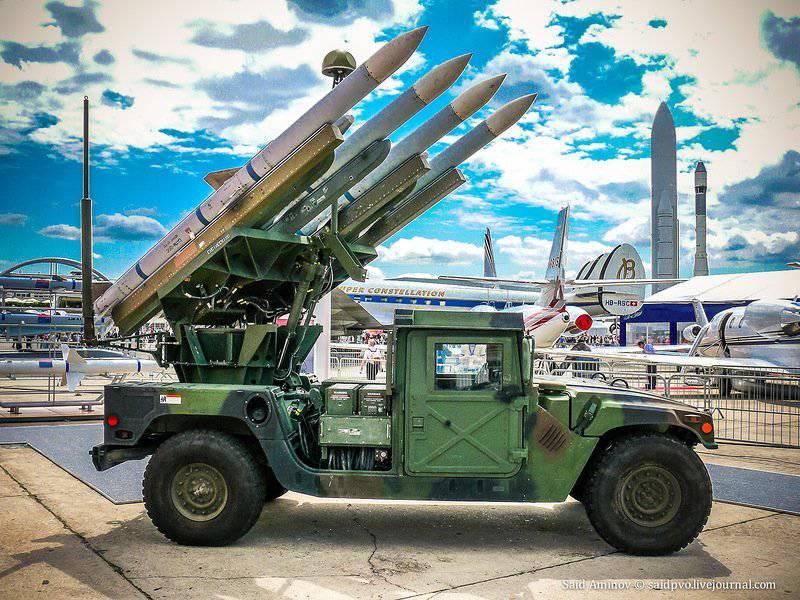 SLAMRAAM मध्यम श्रेणी की वायु रक्षा प्रणाली है