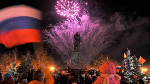 The reunification of the Crimea with Russia is a model