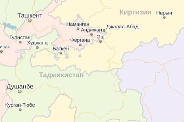 Спорная территория таджикистана и китая