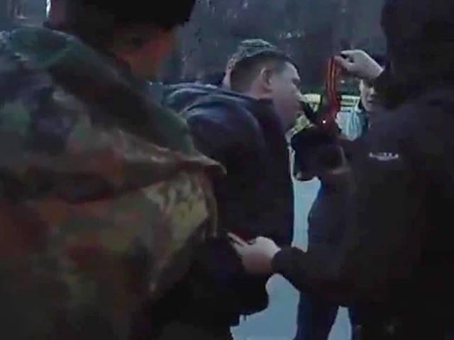 Ataques em Dnepropetrovsk: quebrar as fitas de St. George e bater