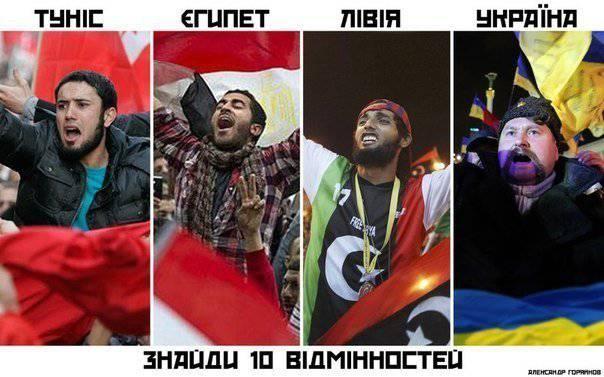 Euromaidan come continuazione della primavera araba: opportunità e rischi di trasferire esperienze straniere di sviluppo sociale in Russia