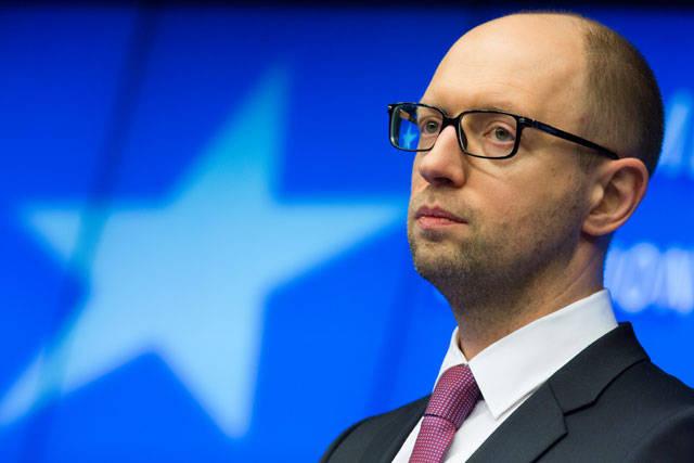 Yatsenyuk : 우크라이나는 파산 직전에있다.