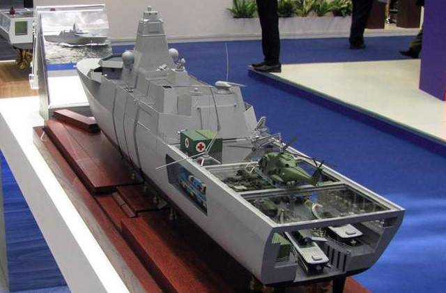 The Netherlands is developing a state-of-the-art warship suitable for marine operations in the Gulf region