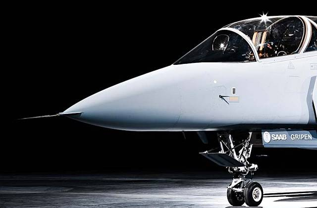 Developed by SAAB, JAS 39E Gripen may be the most advanced in its class due to its software.