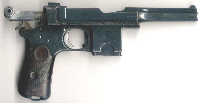 """自动手枪系统Bergman样品1903  -  1908双年度,品牌""""Bayard"""""""
