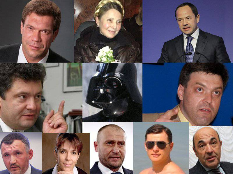 Darth Vader vs. Rabinowitz. On the political situation and the presidential race in Ukraine