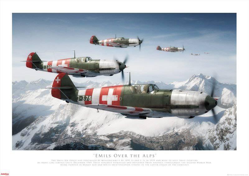 스위스 공군. 모두 반대!
