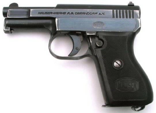 「小」モーゼル(Mauser Werke 1910、1914、1934)